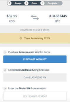 Amazon Gift Cards To Bitcoin Via Purse